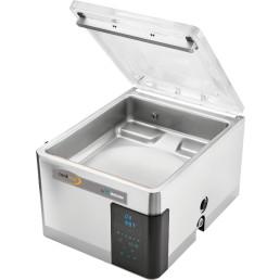 Vakuumierer 21 m³/h mit Dampfsensor / VacAssist App, Kammer 370 x 420 x 180 mm