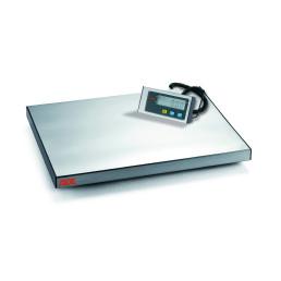 Elektronische Plattformwaage, bis 60 kg, Netz- und Batteriebetrieb