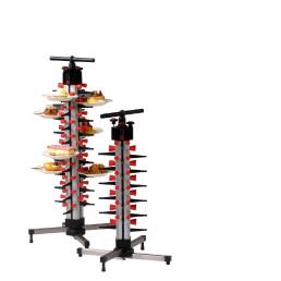 Tellerstapelsystem PLATE MATE, Tischmodell bis 24 Teller / H=730 mm