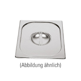GN-Deckel, GN 1/4, 265 x 162 mm, ohne Löffelausschnitt, Edelstahl