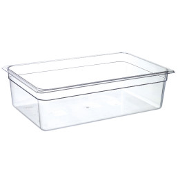 GN-Behälter, GN 1/1, 530 x 325 x 150 mm, Polycarbonat transparent