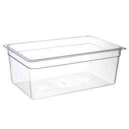 GN-Behälter, GN 1/1, 530 x 325 x 200 mm, Polycarbonat transparent