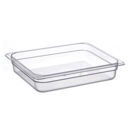 GN-Behälter, GN 1/2, 325 x 265 x 65 mm, Polycarbonat transparent