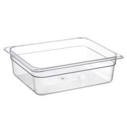 GN-Behälter, GN 1/2, 325 x 265 x 100 mm, Polycarbonat transparent