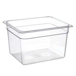 GN-Behälter, GN 1/2, 325 x 265 x 200 mm, Polycarbonat transparent