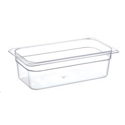 GN-Behälter, GN 1/3, 325 x 176 x 100 mm, Polycarbonat transparent