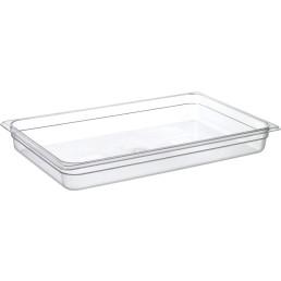 GN-Behälter, GN 1/1, 530 x 325 x 65 mm, Polycarbonat transparent
