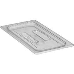 GN-Deckel, GN 1/3, 325 x 176 mm, mit Griff, Polycarbonat transparent