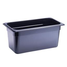 GN-Behälter, GN 1/3, 325 x 176 x 150 mm, Polycarbonat, schwarz