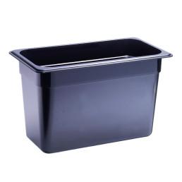 GN-Behälter, GN 1/3, 325 x 176 x 200 mm, Polycarbonat, schwarz