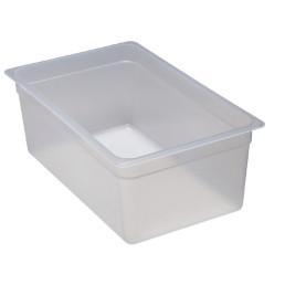 Frischhaltebox, GN 1/1, 530 x 325 x 200 mm, Polypropylen transparent