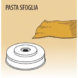 Matrize Pasta Sfoglia, für Nudelmaschine 516002 bis 516004