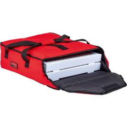 Pizza-Transporttasche, GoBag, rot, für 2 x 406 mm Pizza-Boxen VPE 4 Stk