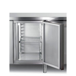 Auflageschienen Edelstahl für Kühl- und Tiefkühltische GN 1/1, 1 Paar