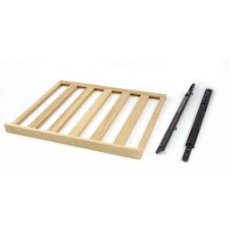 Holz-Flaschenboden inkl. Auflageschienen für 627016 bis 627019
