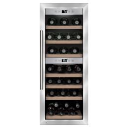 Weinkühlschrank 2 Zonen 38 Flaschen 395 x 580 x 1020 mm
