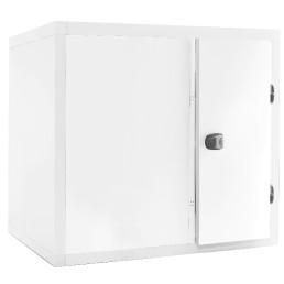 Kühlzelle 2,80m³ 1400 x 1400 x 2110 mm 80 mm Wandisolierung