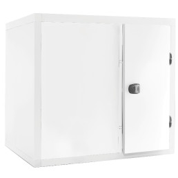 Kühlzelle 4,91m³ 2300 x 1400 x 2110 mm 80 mm Wandisolierung