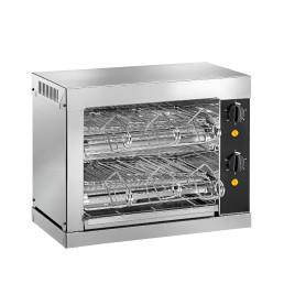 Toaster mit Timer, 2 Heizebenen
