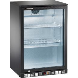 Flaschenkühlschrank 140 l 1 Glasflügeltür 2 Roste