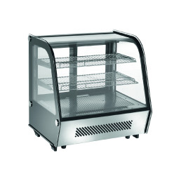 Tischkühlvitrine Umluft 100 l 682 x 450 x 675 mm