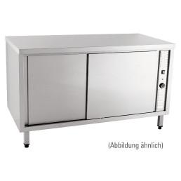 Wärmeschrank mit Schiebetüren ohne Aufkantung 1400 x 600 x 850 mm