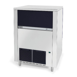 Würfeleisbereiter Vollkegel, 130 kg/24 h, 65 kg Eisvorratsbehälter