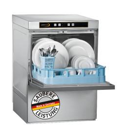 Geschirrspüler mit Ablaufpumpe und Reinigerdosierer