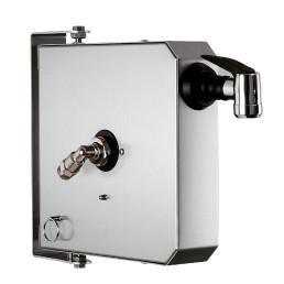 Schlauchaufroller automatisch mit 4 m Schlauch / 64 x 285 x 285 mm