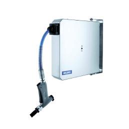 Schlauchaufroller automatisch mit 6 m Schlauch / 80 x 380 x 380 mm