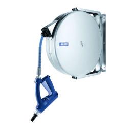 Schlauchaufroller automatisch mit 10 m Schlauch / 150 x 480 x 450 mm