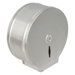 Toilettenpapier-Spender, für 400 m Rolle, Edelstahl matt