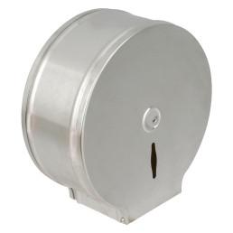 Toilettenpapier-Spender, für 200 m Rolle, Edelstahl matt