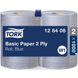 TORK Papierrolle, blau, 2-lagig, 2 Rollen