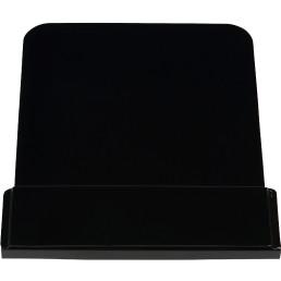 Anzeigetafel schwarz für Abfalleimer 861109 bis 861116
