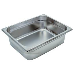 GN-Behälter, GN 1/2, 325 x 265 x 100 mm, Edelstahl