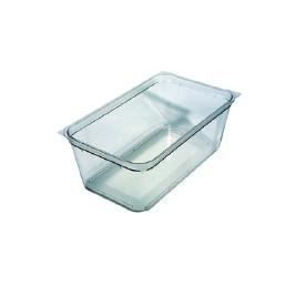 GN-Behälter, GN 1/3, 325 x 176 x 100 mm, Polycarbonat, transparent