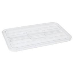 GN-Deckel, GN 1/1, Polycarbonat transparent, für GN-Behälter