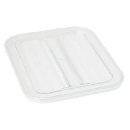 GN-Deckel, GN 1/2, Polycarbonat transparent, für GN-Behälter