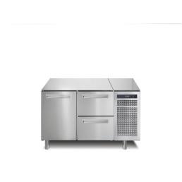 Kühltisch, 168 l, GN 1/1, 1 Tür und 2 Schubladen