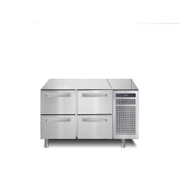 Kühltisch, 168 l, GN 1/1, 4 Schubladen