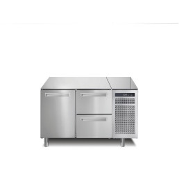 Tiefkühltisch 168 l GN 1/1 1 Tür 2 Schubladen