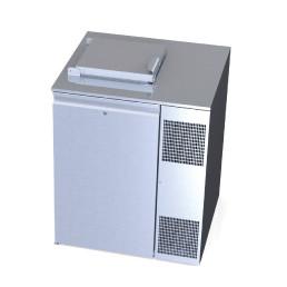Konfiskatkühler für 1 x 120 oder 240 l Abfallbehälter mit Winterheizung