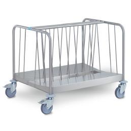 Tellertransportwagen 2-fach niedrige Ausführung Tragkraft 270 kg