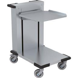 Korbstaplerwagen, offen, 500 x 500 mm