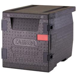 Wärmebox, Frontlader für GN 1/1, 60 l, schwarz