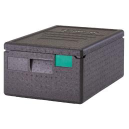 Wärmebox, Toplader für GN 1/1-150 mm, schwarz