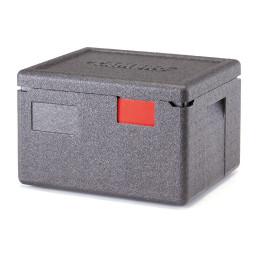 Wärmebox, Toplader für GN 1/2-150 mm, schwarz