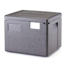 Wärmebox, Toplader für GN 1/2-200 mm, schwarz