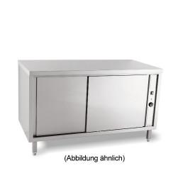 Wärmeschrank mit Schiebetüren ohne Aufkantung 1800 x 700 x 850 mm